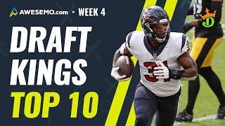 DraftKings Top 10: Week 4 NFL DFS Top Picks