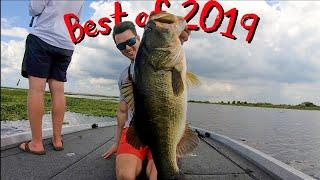 BEST OF 2019 Fishing Videos ... How To Remove a Fish Hook and How To Catch Giant Bass