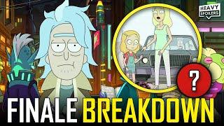 RICK AND MORTY Season 5 Finale Breakdown   Episode 9 & 10 Easter Eggs And Ending Explained
