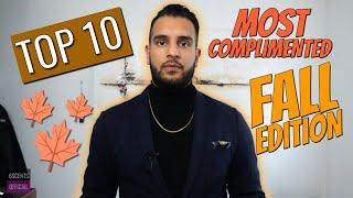 TOP 10 FALL FRAGRANCES | MOST COMPLIMENTED COLOGNES (Rated and Reviewed)
