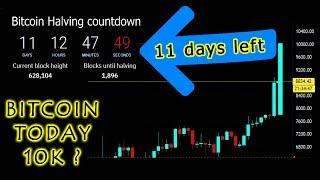 Bitcoin live trading - Bitcoin can hit 10k today ?  Bitcoin Halving  may 1st  2020