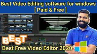 Best video editing software for pc 2020|| Free video editing software for Windows Pc