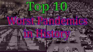 Worst Pandemics in History | Top 10 Worst Pandemics | Where does coronavirus lie in Pandemic History