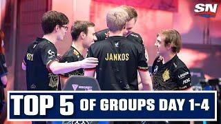 Top 5 Plays From 2020 League Of Legends Worlds: Group Stage Days 1-4