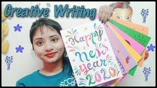 Creative Art  | Monthly Creativity | Creative Writings | Happy New Year 2020 |