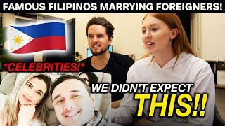Top 10 FILIPINO Celebrities Who Married Foreigners REACTION!