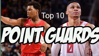Top 10 Point Guards 2020-21 Season!