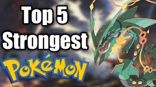 Top 5 strongest pokemon  of all time. Explained in hindi. By Toon Clash.
