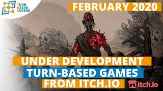 Top Itch.io turn-based strategy RPGs under development 2020