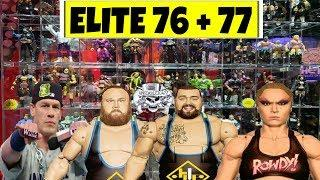 WWE ACTION FIGURE NEWS: ELITE 76 + ELITE 77 LEAKED!