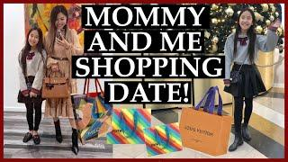 VLOG - CHRISTMAS SHOPPING WITH MY DAUGHTER!