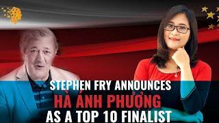 Stephen Fry Announces Hà Ánh Phượng As A Top 10 Finalist For The Global Teacher Prize 2020