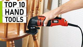 Top 10 Latest Hand Tools for DIY Projects & Jobsite