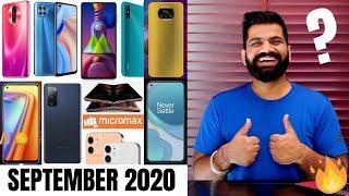 Top Upcoming Smartphones - September 2020