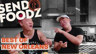 Tim and David Try the Best of NOLA   Send Foodz