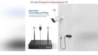 Top 10 [Newest] Wireless Security Camera System, Firstrend 8CH 1080P Wireless NVR System with 4pcs
