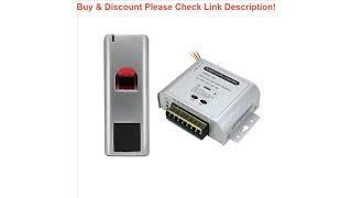 Top Outdoor 1000 users Fingerprint Reader RFID Biometric Fingerprint access Control Door Access Sys