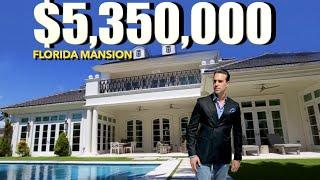 Inside a $5 Million Dollar Waterfront Mega Mansion | Luxury House Tour | Peter J Ancona-Vlog# 41
