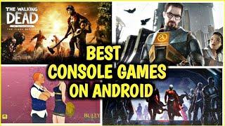 Best Console Games You Can Play On Android || Best quality games on android