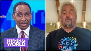 Stephen A. and Guy Fieri reflect on coaching the NBA All-Star Celebrity Game | Stephen A's World