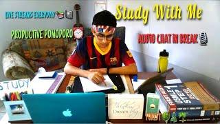 Study With Me LIVE 50/10  in Vacations | Forest