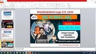 Kingresearch Eagle eye | Best stocks for Tomorrow Trade | 12th March | Episode 7 #Niftyfuture