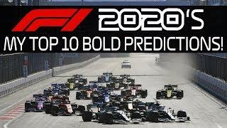MY TOP 10 F1 2020's BOLD PREDICTIONS!