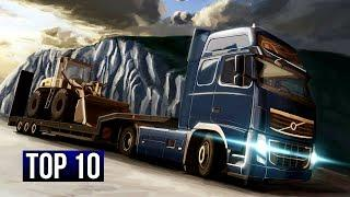 Top 10 Free High Graphics Truck Simulator Games For Android/iOS 2020
