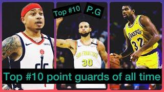 Top 10 point guards guards of all time