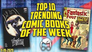 Top 10 Hottest Trending Comic Books of the Week // ft. Russ of MillGeekComics