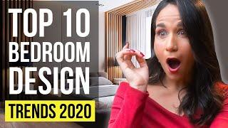 BEDROOM DESIGN TRENDS 2020 | Top 10 Interior Design Ideas, Tips and Trends for Home Decor