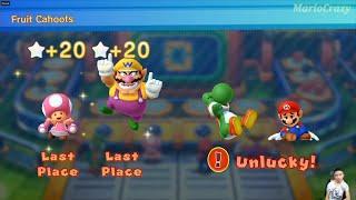 Mario Party 10 Series Map Yoshi vs Wario vs Toadette vs Mario  (Whimsical Waters) MARIO CRAZY