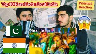 Pakistani React Top 10 Rare facts about India you never Heard before  || F A VIEWS ||