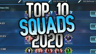 SWGoH Best 10 Squads in 2020! MUST Farm!! | Star Wars: Galaxy of Heroes