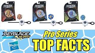 BEYBLADE BURST PRO SERIES TOP FACTS | Hasbro Exclusive Information