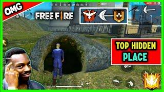 New Top Secret Hiding Place In Free Fire || New Tricks And Tips Tamil || GameTech Tamilan