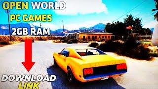 Top 10 Open world games for 2gb ram low end pc | ANDRO GAMERZ|