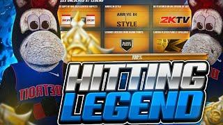 100% TO LEGEND! HITTING LEGEND RIGHT NOW! BEST JUMPSHOT AND BUILD ON NBA 2K20