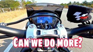 Street Triple RS Top Speed with SC-Project in India | PURE Triumph SOUND