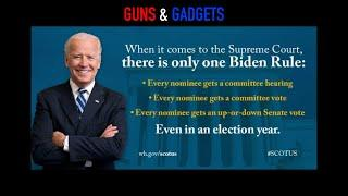 The Biden Rule: Nominating Supreme Court Justices During Election Years