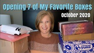 Opening 7 of My Favorite Boxes | October 2020