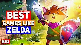 Top 20 BEST Indie Games like The Legend of Zelda (A Link to the Past)