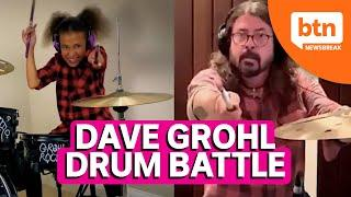 10 Year Old Drummer Faces off against Foo Fighters' Dave Grohl