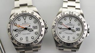 The Best Explorer II - Rolex Explorer II 16570 vs 216570 Review (2020)
