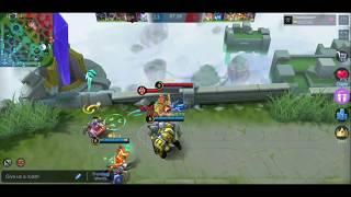 Gusion •NoobQueen• Fast Hand?? Gameplay by Fanny Top 10 Indonesia | Mobile Legends