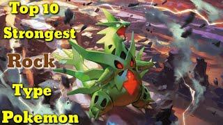 Top 10 strongest Rock type pokemon. Explained in hindi. By Toon clash