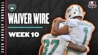 2020 Fantasy Football Rankings - Week 10 Top Waiver Wire Players To Target - Fantasy Football Advice