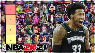 RANKING THE BEST BUDGET PLAYERS IN NBA 2K21 MyTEAM!! (Tier List)