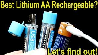 """Which """"Lithium"""" AA Rechargeable Battery is Best? Let's find out!"""