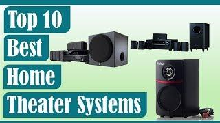 Best Home Theater Systems 2020? Top 5 Home Theater Speakers (Buying Guide)